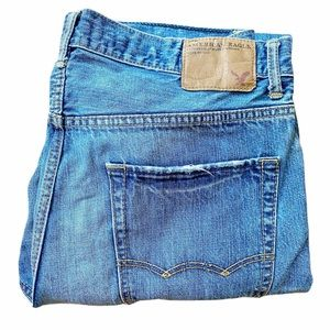 MENS AMERICAN EAGLE JEANS 34X32